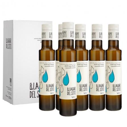 El Lagar del Soto Premium D.O.P Gata-Hurdes Cristal 250 ml / Caja: 6 unid x 250ml
